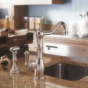 Aquitaine Sink Mixer by Perrin&Rowe