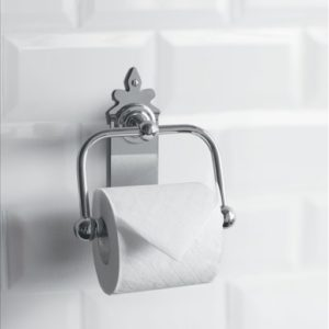 Spire WC Roll Holder by Burlington