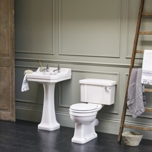 Edwardian basin with pedestal by Burlington