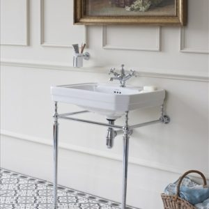 Victorian basin with stand by Burlington
