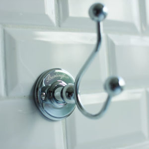 Double robe hook by Burlington