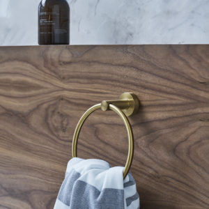 Hoxton towel ring by Britton