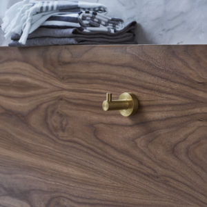 Hoxton robe hook by Britton