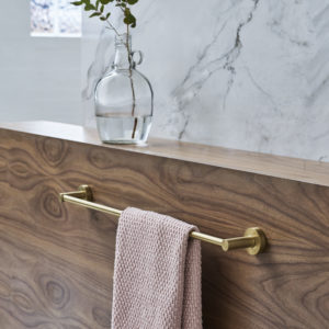 Hoxton towel rail by Britton