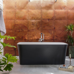 Edge bath by Victoria+Albert Baths