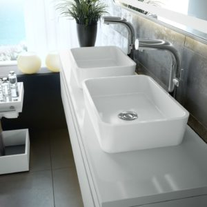 Edge 45 basin by Victoria+Albert Baths