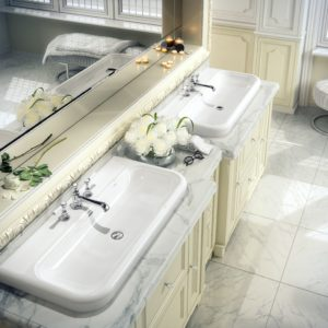Lario 100 solo basin by Victoria+Albert Baths