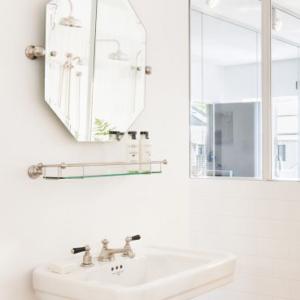 Octagonal Mirror by Perrin&Rowe