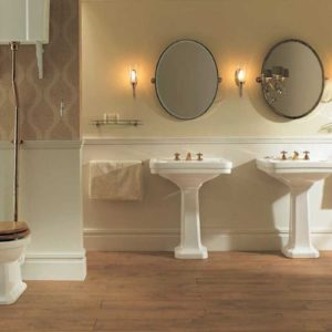Chelsea basin with pedestal by Imperial