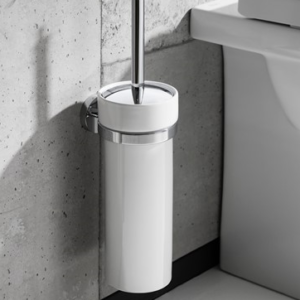 Central Toilet Brush Holder by Crosswater