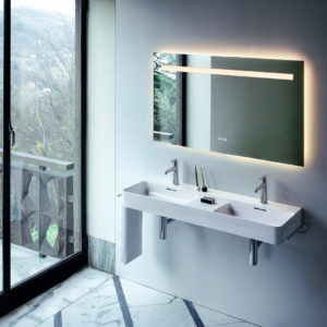 VAL double washbasin by Laufen