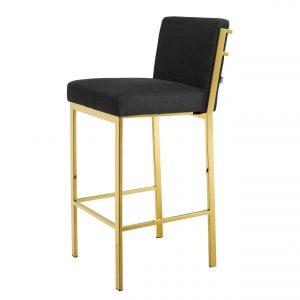 Bar stool Scott Gold finish by Eichholtz