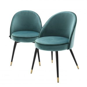 Dining chair Turquoise by Eichholtz