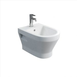 Curve wall hung bidet by Britton