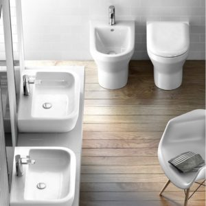 Curve floorstanding WC by Britton