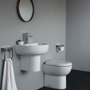 Compact floorstanding WC by Britton
