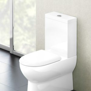 Compact close-coupled WC by Britton