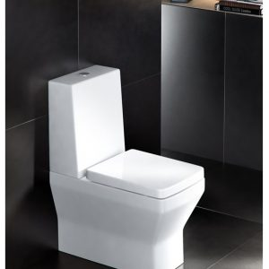 Cube close-coupled WC by Britton
