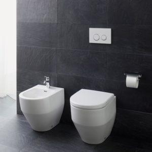 Laufen Pro floorstanding WC and bidet by Laufen