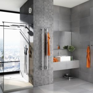 Limbo towel rail by Pax