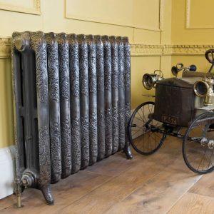 Rococo radiator by Carron