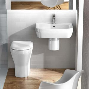 Curve basin with semi-pedestal by Britton
