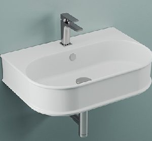 Atelier wall hung basin by ArtCeram