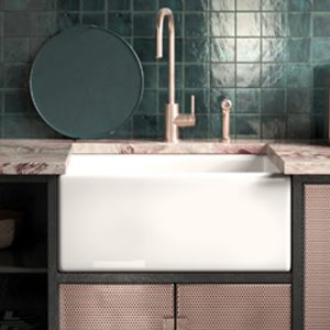 Shaker 600 kitchen sink by Shaws