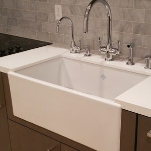 Shaker 800 kitchen sink by Shaws
