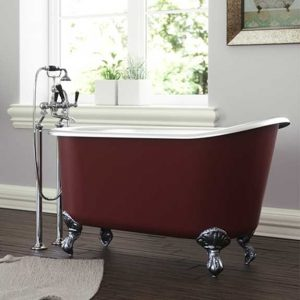 Shelley cast iron bath by Hurlingham