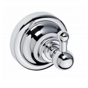 RETRO Single chrome robe hook by Bemeta
