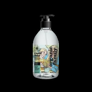 LIQUID SOAP WITH ALOE AND CALENDULA FOR SENSITIVE SKIN. NO SCENT ADDED. 500ML