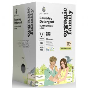 ORGANIC FAMILY SUMMERTIME LOVE LAUNDRY DETERGENT 3L