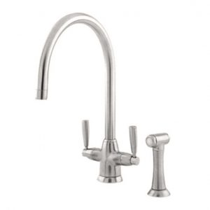 Metis Sink Mixer with Rinse by Perrin&Rowe