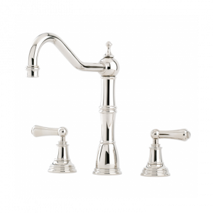 Alsace Sink Mixer with Lever Handles by Perrin&Rowe