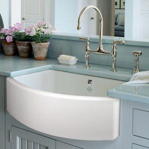 Waterside 600 kitchen sink by Shaws