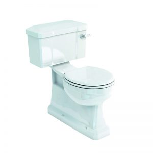 S Trap CC WC with 520 Lever Cistern by Burlington