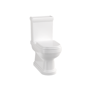 Riviera Close-coupled Full Back-to-wall Pan and Cistern by Burlington
